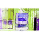 Glasses Gleaming grene-violett