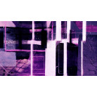 Cuboids Linedup darkblue-pink