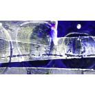 Tracks Imbricating blue-white
