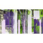 Straight Upright violett-green