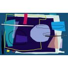 Composition 2 petrol-blue